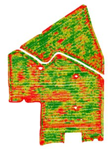 Harvest Yield Map