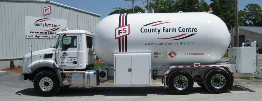 County Farm Centre - Propane Delivery