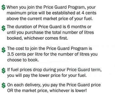 Price Guard Program Highlights